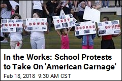In the Works: School Protests to Take On 'American Carnage'