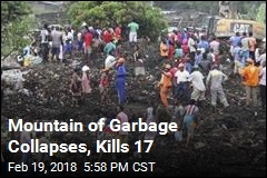 Mountain of Garbage Collapses, Kills 17