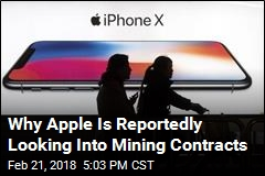 Why Apple Is Reportedly Looking Into Mining Contracts