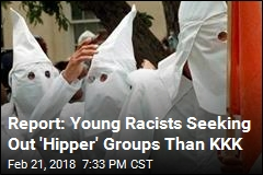 KKK Chapters Drop Steeply Despite 'Hate Group' Surge