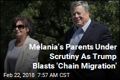 Did First Lady's Parents Get Here Via 'Chain Migration'?