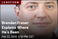 Brendan Fraser Explains Where He's Been