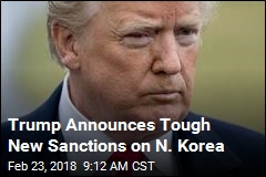 Trump Unveils 'Largest Ever' Sanctions on North Korea