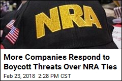 More Companies Distance Themselves From NRA