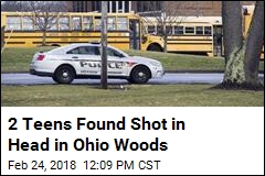 2 Teens Found Shot in Head in Ohio Woods