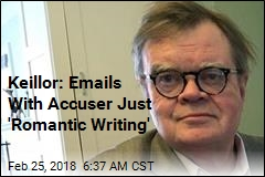 Keillor: Emails With Accuser Just 'Romantic Writing'