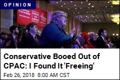 Conservative Booed Out of CPAC: I Found It 'Freeing'
