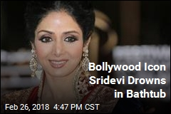First Female Bollywood Superstar Drowns in Bathtub