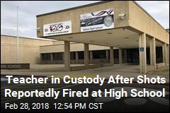 Teacher in Custody After Report of Shots Fired at School