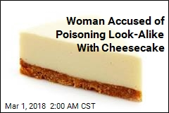 Woman Accused of Poisoning Look-Alike With Cheesecake