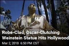 Gold Statue Is Likely Closest Weinstein Will Get to Oscars