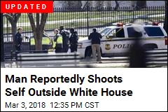 Secret Service Says Man Shot Himself Outside White House