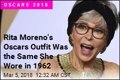 Rita Moreno Wears Dress She Wore to Oscars in 1962