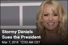 Stormy Daniels Sues the President