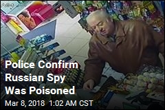 Police Confirm Russian Spy Was Poisoned