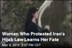 Iranian Woman Gets 2 Years in Prison for Hijab Protest