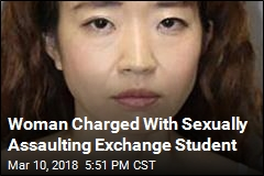 Woman Charged With Sexually Assaulting Exchange Student
