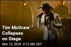 Tim McGraw Collapses During Ireland Concert
