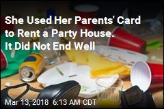 Parents Out $20K After Teen Rents House for Party