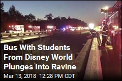 Bus With Students From Disney World Plunges Into Ravine