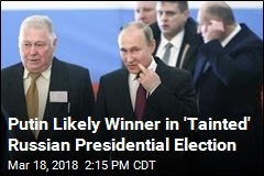 Putin Likely Winner in 'Tainted' Russian Presidential Election