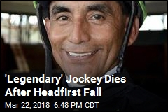 'Legendary' Jockey Dies After Headfirst Fall