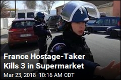 France Hostage-Taker Kills 3, Demands Terrorist's Release