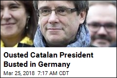 Ousted Catalan President Busted in Germany
