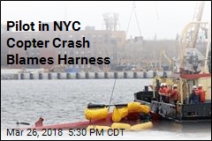 Pilot in NYC Copter Crash Blames Harness