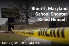 Sheriff: Maryland School Shooter Killed Himself