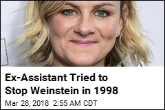 Ex-Assistant Tried to Stop Weinstein in 1998