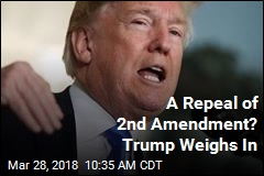 Trump: 2nd Amendment 'WILL NEVER BE REPEALED'