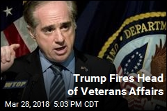 Trump Announces Shulkin's Firing on Twitter
