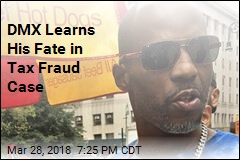 DMX Learns His Fate in Tax Fraud Case