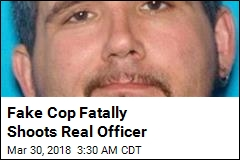 Fake Cop Fatally Shoots Real Officer