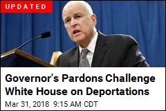 Jerry Brown's Move Challenges White House on Deportations