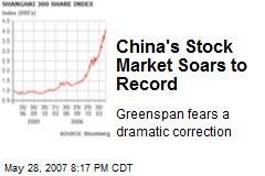 China's Stock Market Soars to Record
