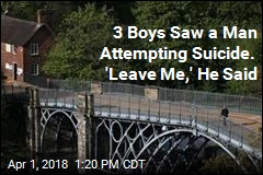 3 Boys Saw a Man Trying to Hang Himself. They Grabbed Him