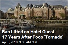 Hotel Guest Finally Forgiven for Poop, Pepperoni 'Tornado'