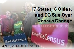 17 States, 6 Cities, and DC Sue Over Census