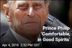 Prince Philip Is OK After Hip Surgery