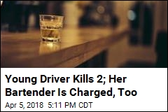 Bartender Charged in Customer's Fatal Crash