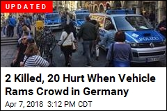 Vehicle Crashes Into Crowd in Germany, Some Dead: Police