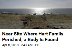 Near Site Where Hart Family Perished, a Body Is Found