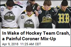 In Wake of Hockey Team Crash, a Painful Coroner Mix-Up