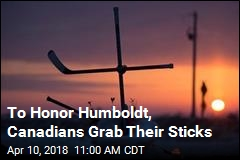 To Honor Humboldt, Canadians Grab Their Sticks