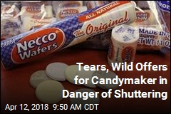 Candymaker's Troubles Bring Tears, Wild Offers