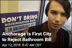Anchorage Is First City to Reject Bathroom Bill