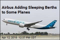 Airbus Adding Sleeping Berths to Some Planes