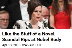 Like the Stuff of a Novel, Scandal Rips at Nobel Body